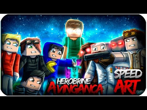HEROBRINE A VINGANÇA Speed Art