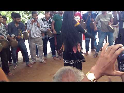 Kali dance at bhodar village in puri odisha