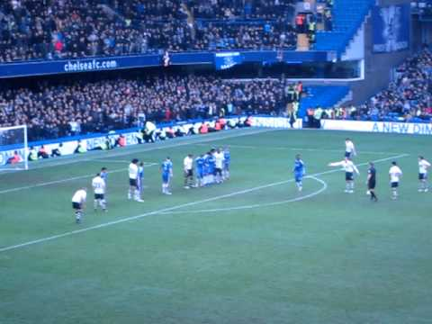 Leighton Baines 119th Minute Freekick Vs Chelsea