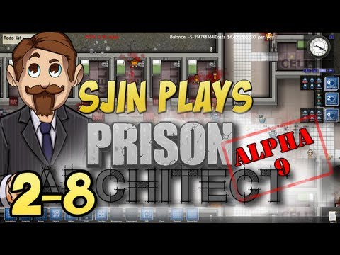Prison Architect Alpha #9 - 2 - 8: Final Preparations