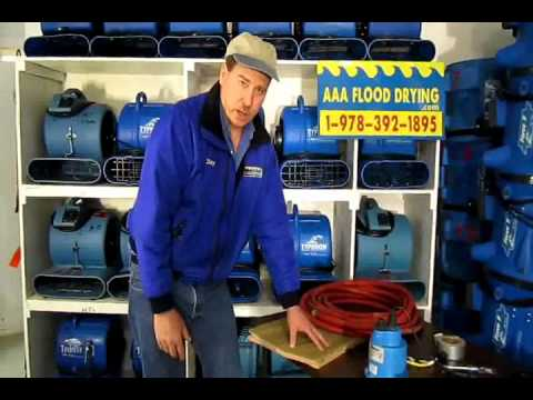 How to Pump Out a Flooded Basement #1,  Water Removal, Water Pumping