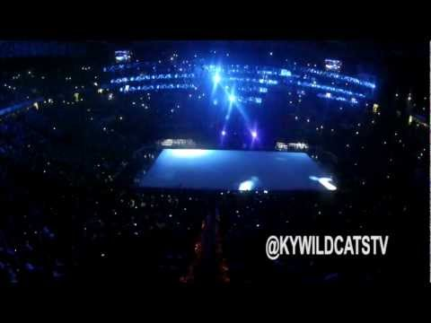 2012 Big Blue Madness Kentucky Men's Basketball Intro Video