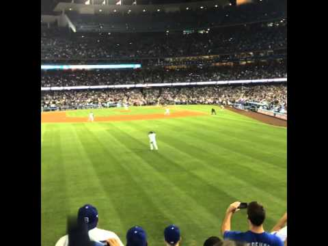 Clayton Kershaw, first, no hitter, Los Angeles Dodgers. The final out.