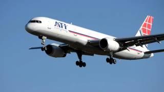 Air Transport International Boeing 757-2Y0F landing at Baltimore Washington airport