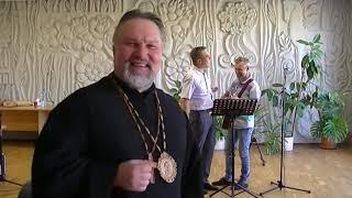 """Перед богослужением в церкви """"Свет Миру"""" в г. #Борисполь 2020.08.30 #АрхиепископСергейЖуравлев  שלום"""