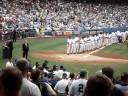 Old Timer's Day 2008 Yankee Stadium - Willie Randolph