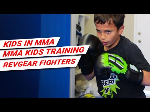 Kids in MMA, MMA Kids, MMA Kids Training, Revgear Fighters