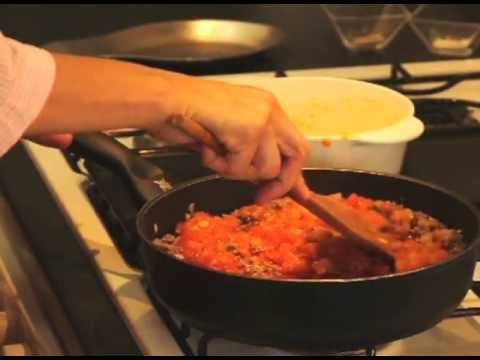 Espagueti a la boloñesa - Spaghetti Bolognese