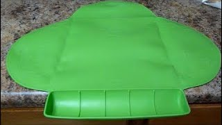 Review of Summer Infant Tiny Diner Placemat - Green Kiddopotamus