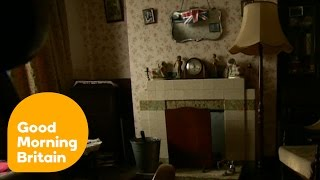 1940s Obsessed Woman Lives In A Wartime House! | Good Morning Britain