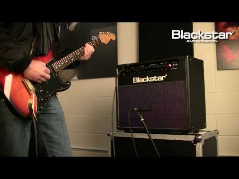 """Demonstration of the New Blackstar HT-40 Club 1x12"""" combo from the Blackstar HT-Venue Series."""