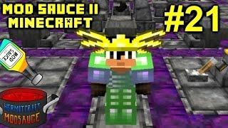 Minecraft Mods - Mod Sauce II Ep. 21 - HEART TO HEART RANT !!! ( HermitCraft Modded )
