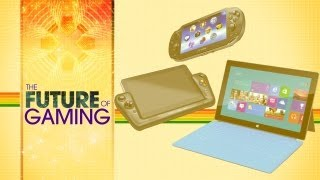Touchscreens and Tablet Gaming - The Future of Gaming Ep 2 [Vita, Wii U, Surface, Wikipad]