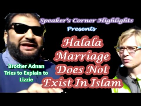 Halala Marriage Does Not Exist In Islam - Brother Adnan Tries To Explain To Lizzie.