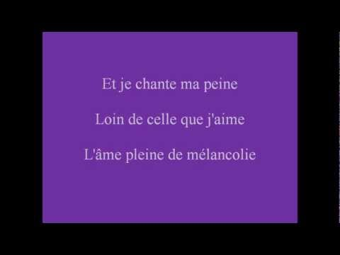 Jeanne (Clip paroles) - LYRICS {HQ}
