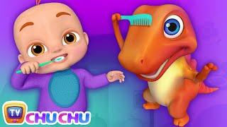 This Is The Way We Brush Our Teeth - ChuChu TV Funzone 3D Nursery Rhymes & Kids Songs