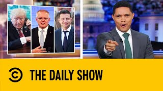 New Details Deepen Trump's Whistleblower Scandal | The Daily Show With Trevor Noah
