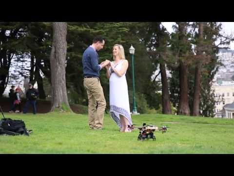 Alamo Square- Wedding Proposal