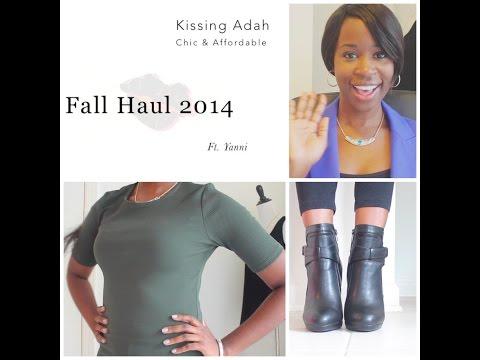 Kissing Adah | Fall Haul 2014 - H&M, Charlotte Russe & Forever 21