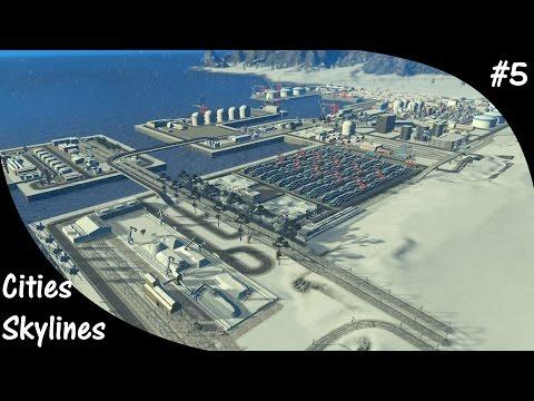 Cities Skylines S3E5 International Harbor