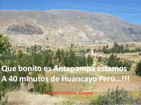 TURISMO PERU HUANCAYO VALLE DEL MANTARO ANTAPAMPA TOURISM IN PERU