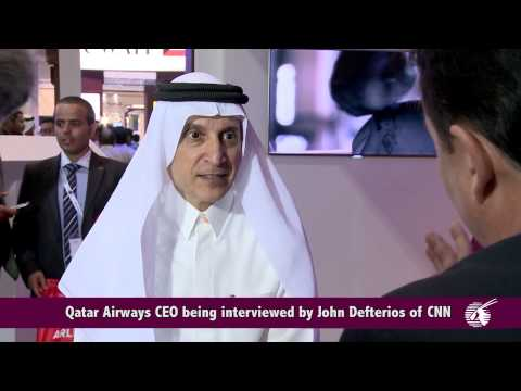 Qatar Airways Highlights from the Arabian Travel Market 2014