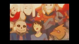 Undertale [Pacifist/Genocide AMV] - Brave Shine