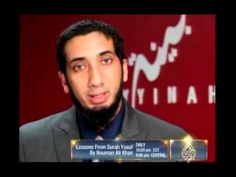 Lessons from Surah Yusuf by Br. Nouman Ali Khan - On ARY Digital in USA, Canada & South Africa