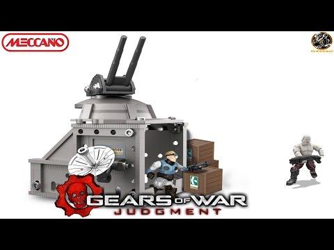 Meccano 4451 Gears of War Island Bunker Assault Unboxing & Review!