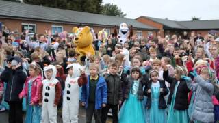 Firfield Primary School 'Let it go Flashmob' for Children in Need