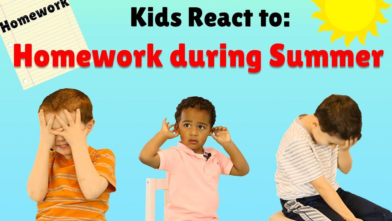 why kids need homework