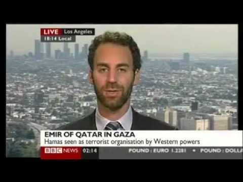 Josh Lockman Discusses Emir of Qatar's Visit to Gaza on BBC World News