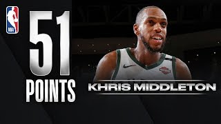 Middleton Drops CAREER-HIGH 51 PTS!