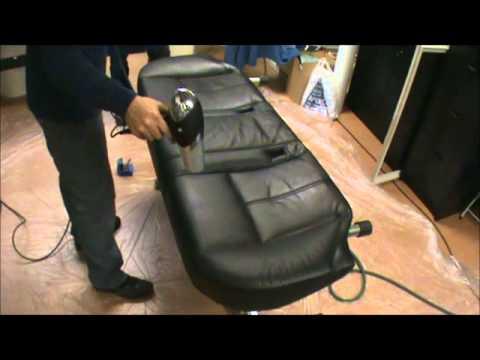 Limpieza de sillones de piel