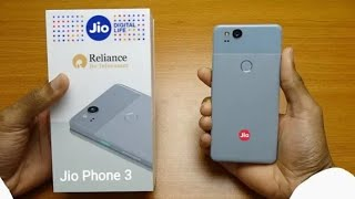 Jio Phone 3 First Look Specification।। 📸41MP ।। Ram 4GB ।। Storage 64GB ।। Launch Date Confirm