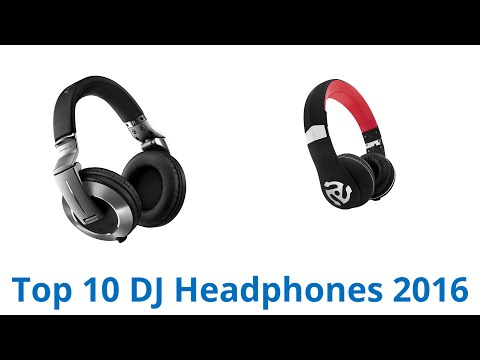 10 Best DJ Headphones 2016