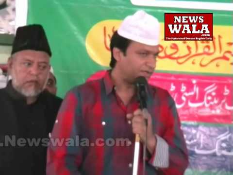 Akbaruddin Owaisi distributed prices at Baghdadi Masjid organized...