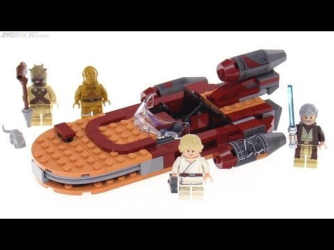 LEGO Star Wars Luke's Landspeeder (2017) review! 75173