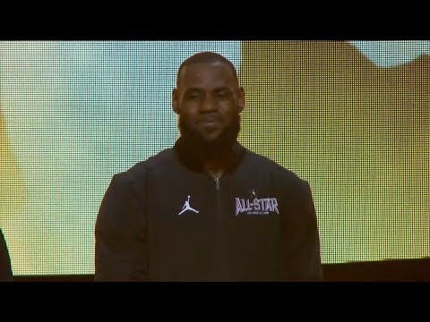 Team LeBron Introduction / Feb 18 / 2018 NBA All-Star Game