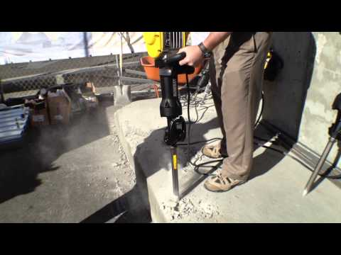 DeWALT D25960K 40 lb Demo Hammer with Dust Extraction Demo