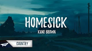 Download Lagu Kane Brown - Homesick (Lyrics / Lyric Video) Gratis STAFABAND