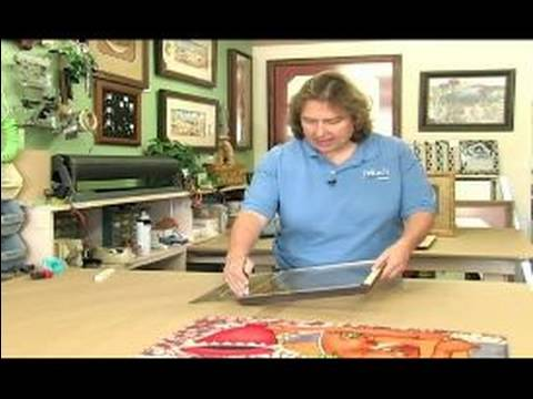 All About Picture Framing : How to Cut the Glass in a Picture Frame