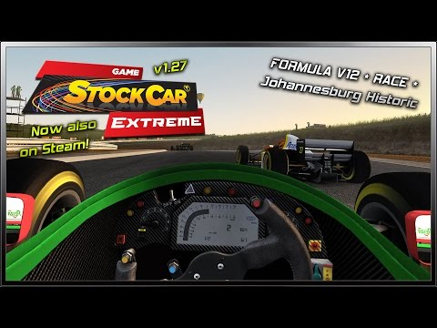 GSC Extreme v1.27 Released - Formula V12 (Race) @ Johannesburg Historic