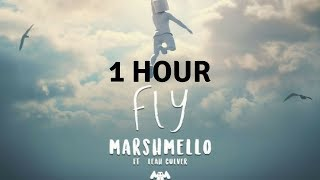1 Hour Marshmello Fly Feat Leah Culver Official Music Audio