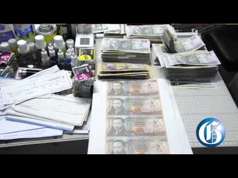Counterfeit money worth J$1.5m seized in St Andrew