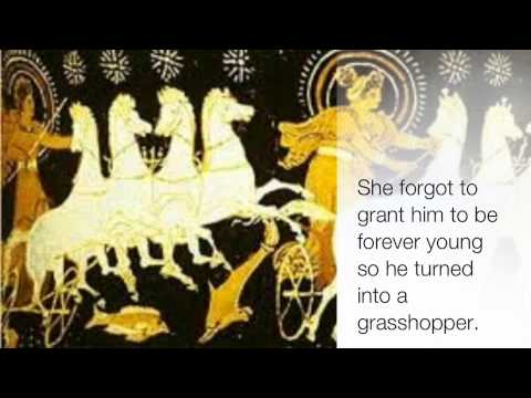 Eos Greek Goddess Project