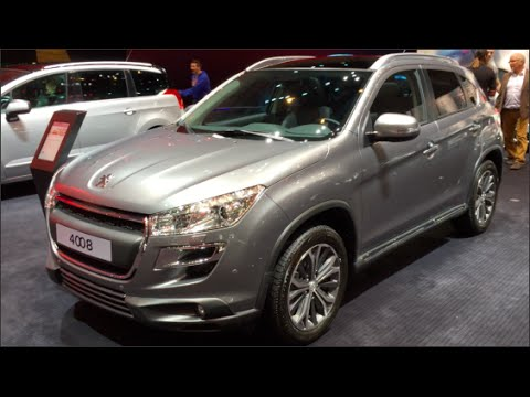 Peugeot 4008 2015 In detail review walkaround Interior Exterior