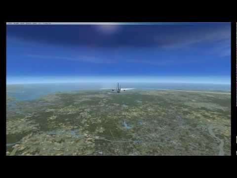 United Airlines Flight 175 Reconstruction with ATC Recording - September 11 2001