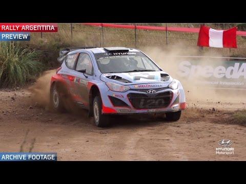 Rally Argentina Preview - Hyundai Motorsport 2015