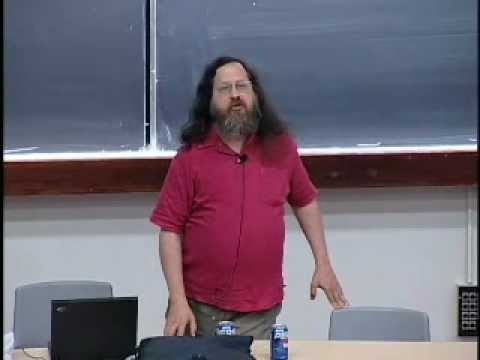 The Danger of Software Patents - Richard Stallman